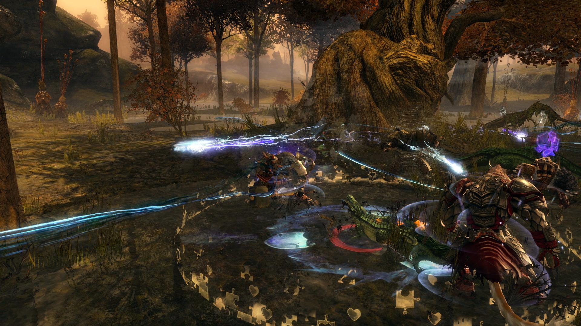 Swamp Fight!