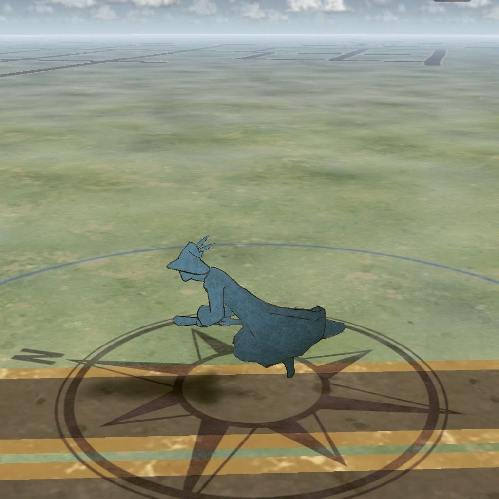 Flying down the road on a broomstick