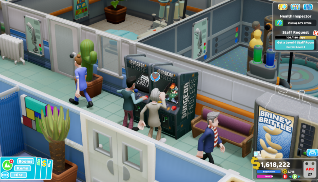Two Point Hospital Cover