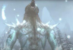 Nornbear roaring
